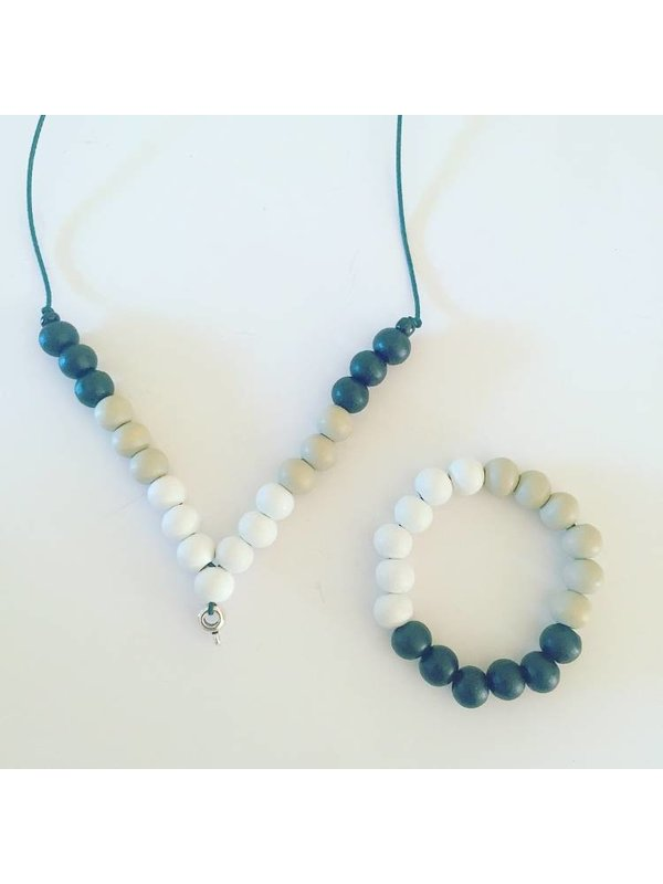 Ketting Black & White