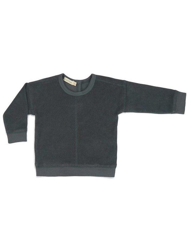 Frotté Sweater slate green