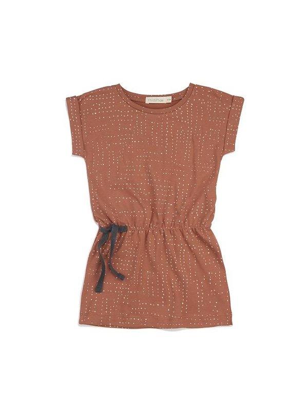 Blouson dress print