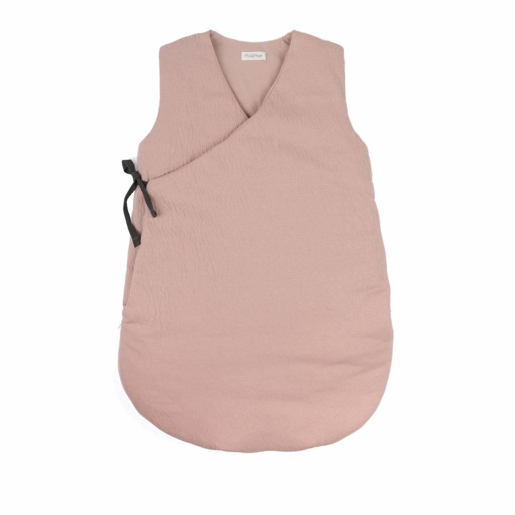 Cross-over summer sleeping bag