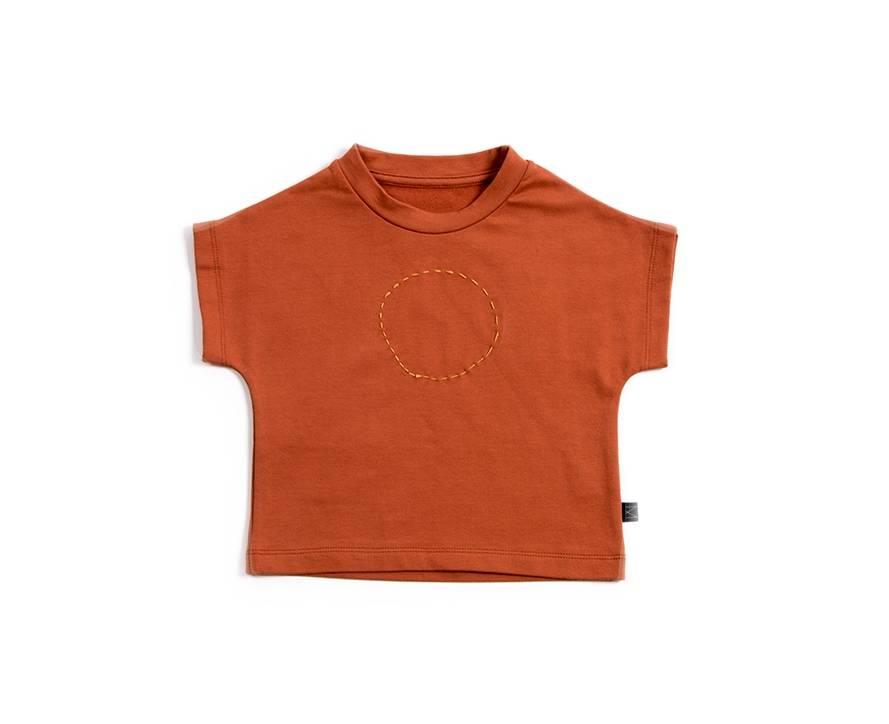 Brick Red Shirt