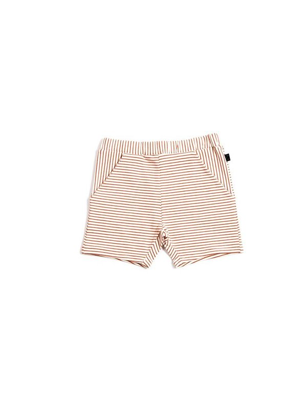 Red stripe shorts