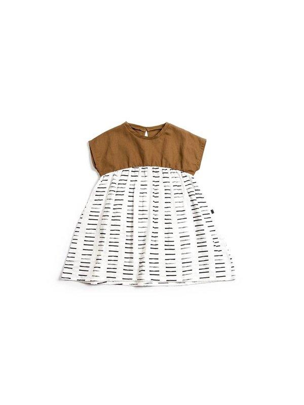 Sienna print dress