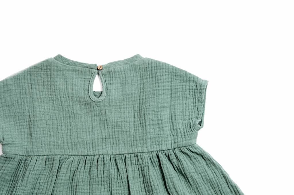 Teal oversized dress