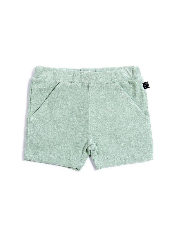 Teal shorts LAATSTE MAAT 3-4Y