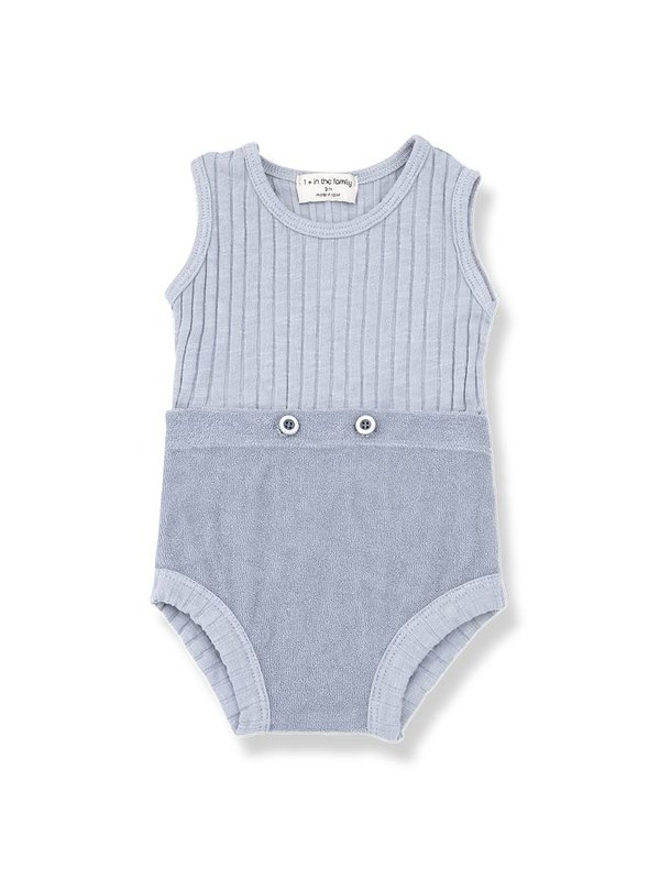 Ayala romper light blue