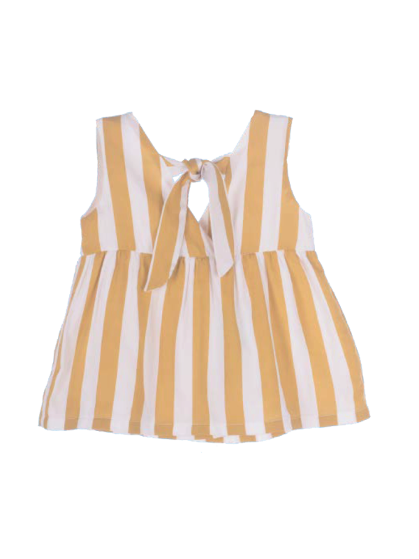 Top & bloomer honey stripes