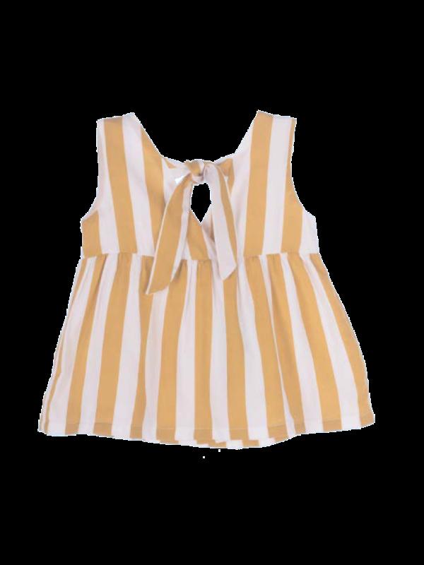 Top & bloomer honey stripes