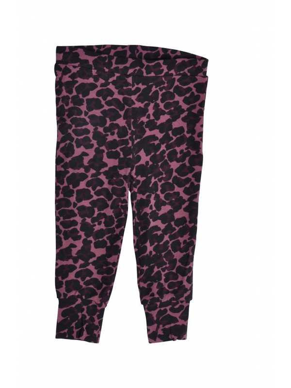 Leggings Leopard Old Rose LAATSTE MAAT 56