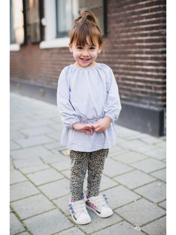 Myra Dress Grey Melange