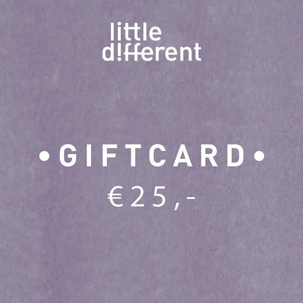 GIFTCARD GIRL €25