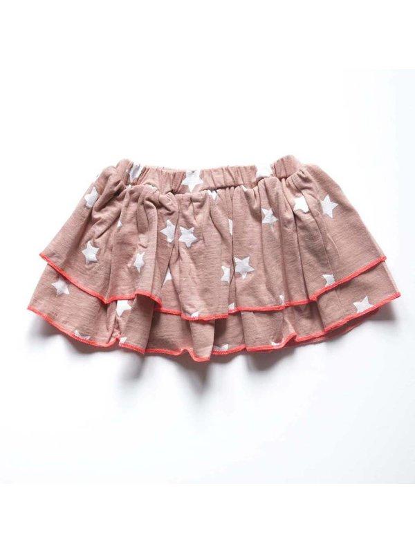 Skirt pink star LAATSTE MAAT 62