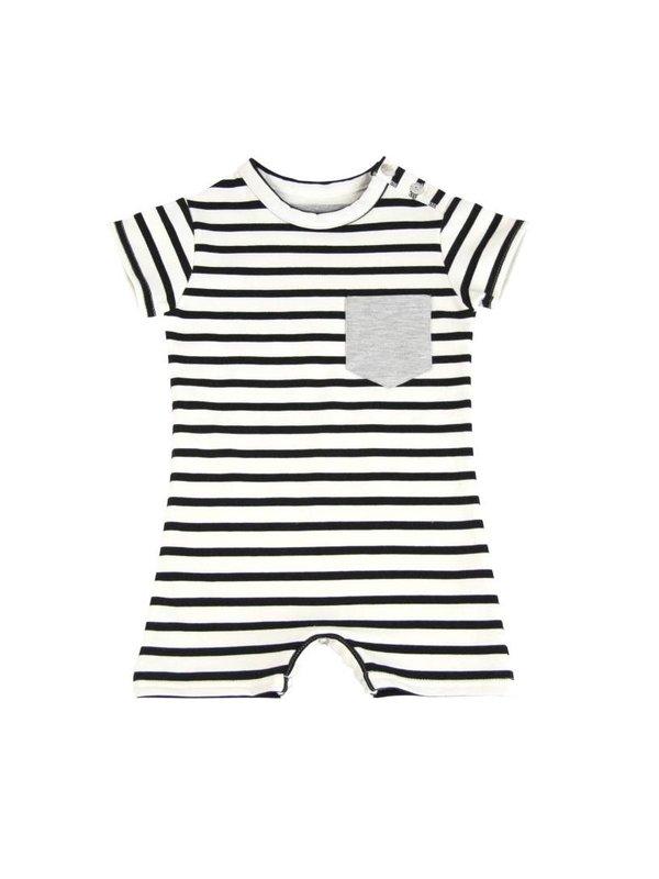 LAATSTE MAAT 74/80 Baby Summer Suit Breton