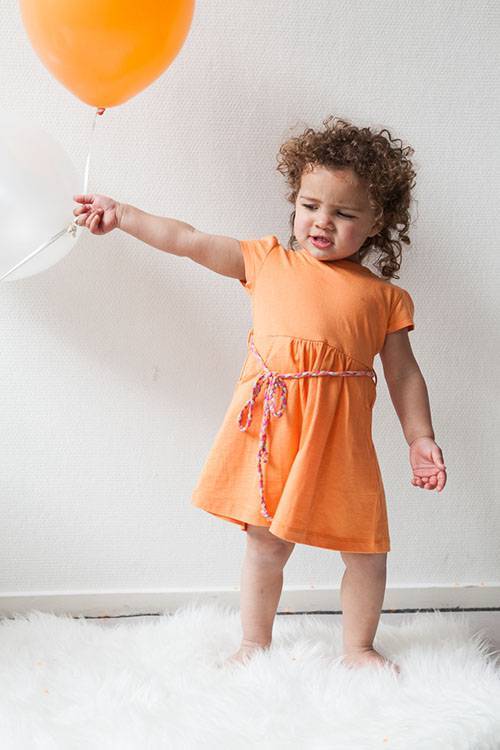 dress HOLLY apricot