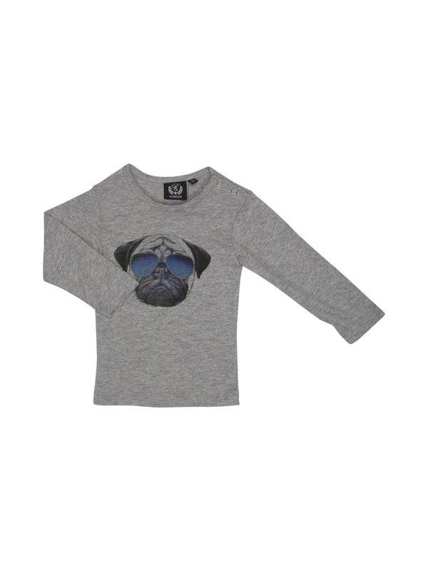 Longsleeve shirt cool dog LAATSTE MAAT 56