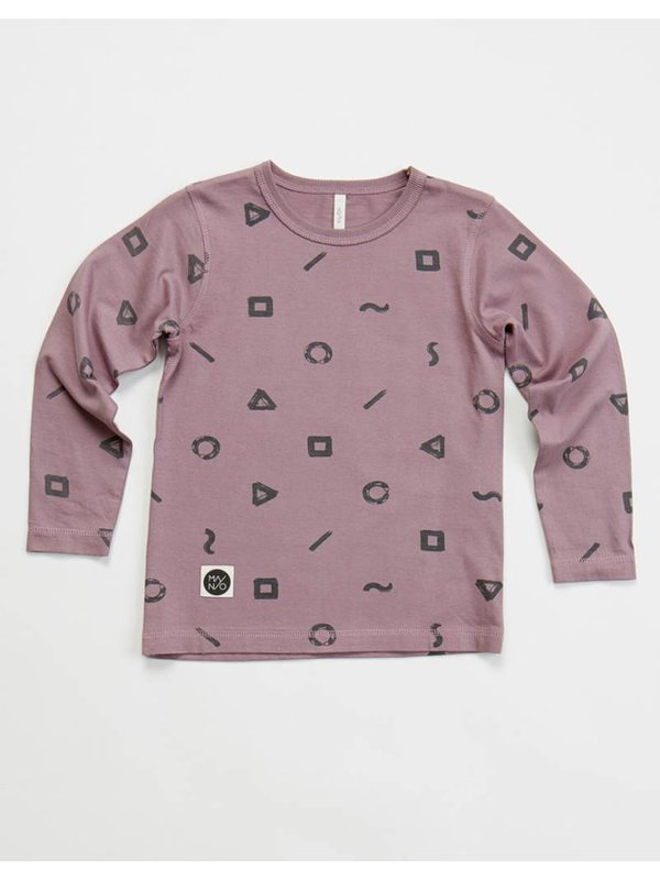 Crayon long sleeve t-shirt