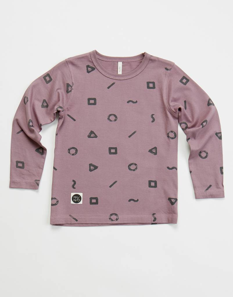 Crayon long sleeve t-shirt