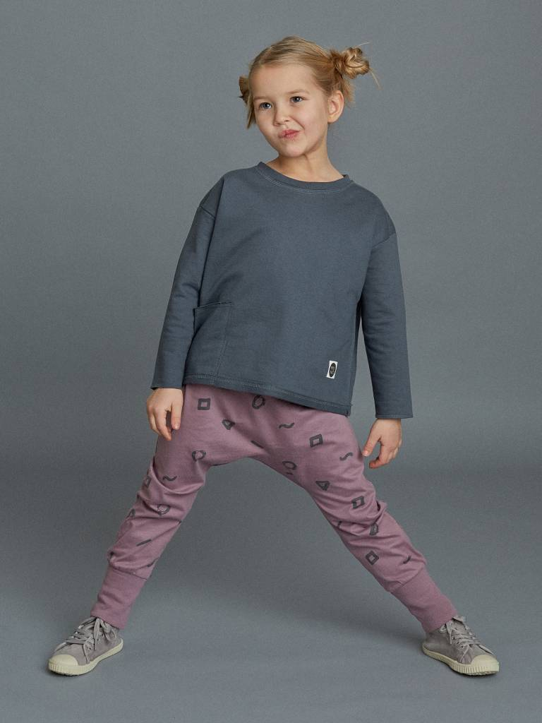 Crayon loose fit pants