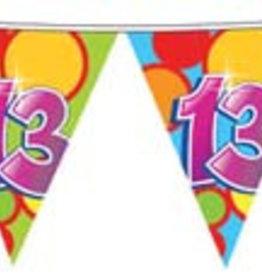 Feestfestijn Vlaggenlijn 13  jaar