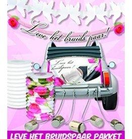 Feestfestijn Leve het bruidspaar pakket