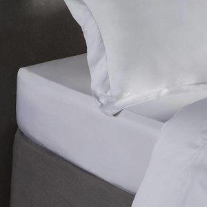 Bamboe hoeslaken - Wit, ivoor of lichtgrijs
