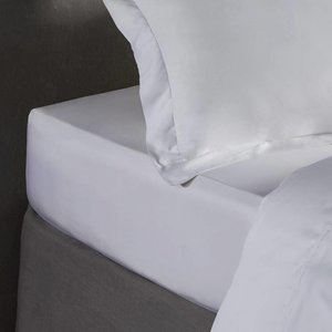 Silk Heaven Bamboe hoeslaken - Wit, ivoor of lichtgrijs