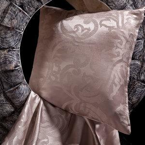 Zijde & Lyocell dekbedovertrek  Hina - metallic rose