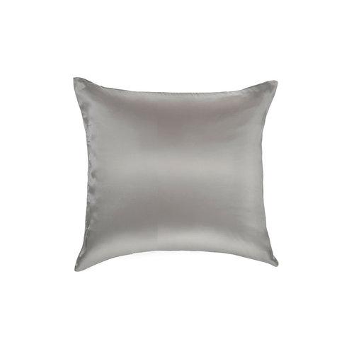 Silk Heaven 100% Zijden sierkussentje Licht grijs - 22MM