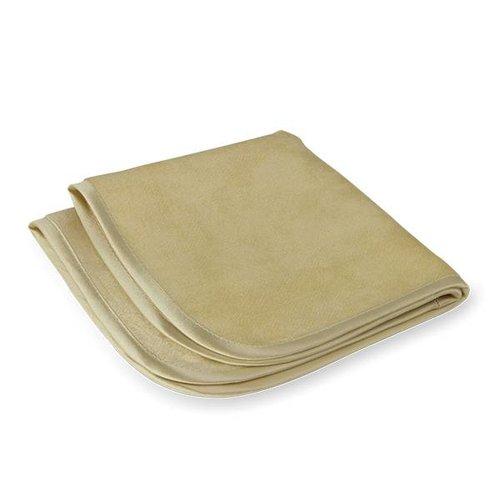 Zijden exfoliatie doekje voor een gladde huid