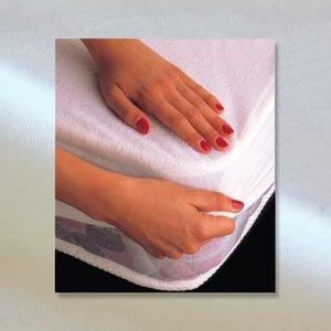 Tencel™ hoeslaken matrasbeschermer - Wit