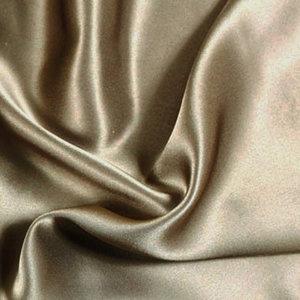 Silk Heaven Zijden dekbedovertrek19MM Taupe+ gratis service set