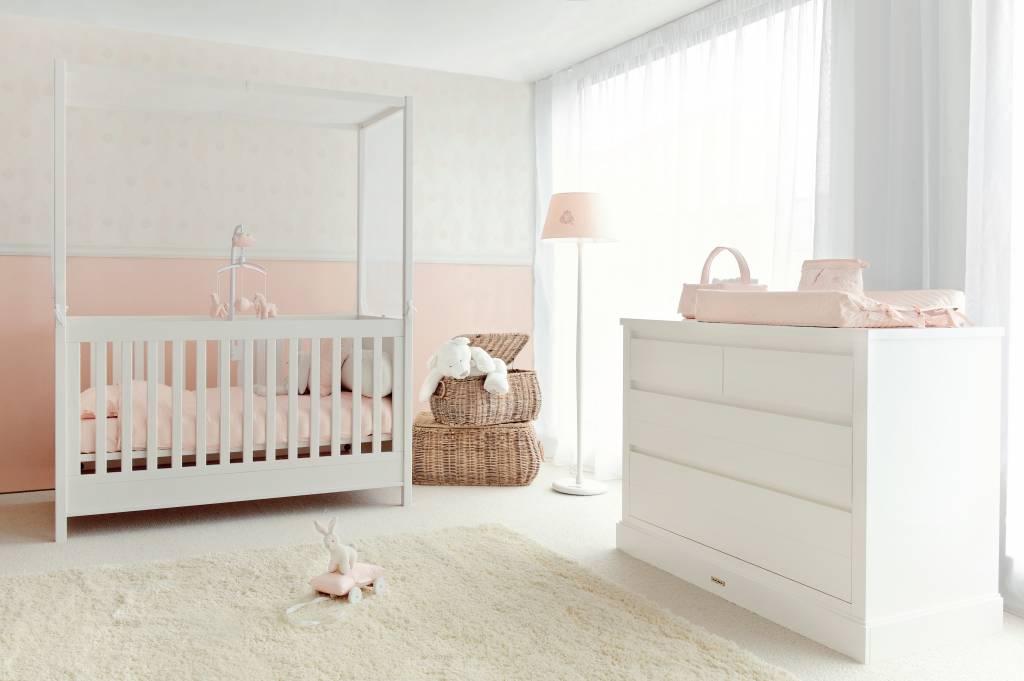 Gordijn Babykamer Babykamers : Babykamer baldaquin baby dreams