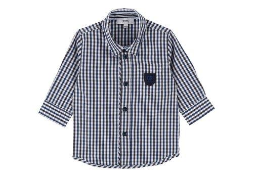 Hugo Boss overhemd ruit