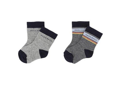 Hugo Boss set van 2 paar sokken