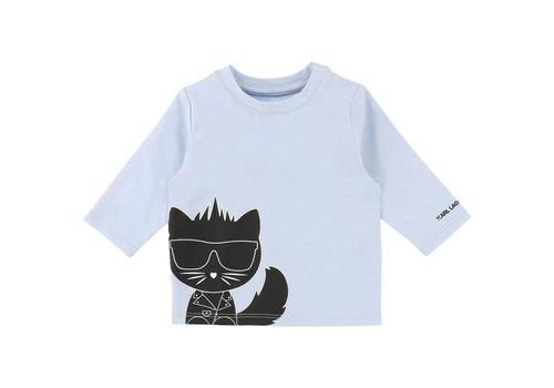 Karl Lagerfeld t-shirt met kat
