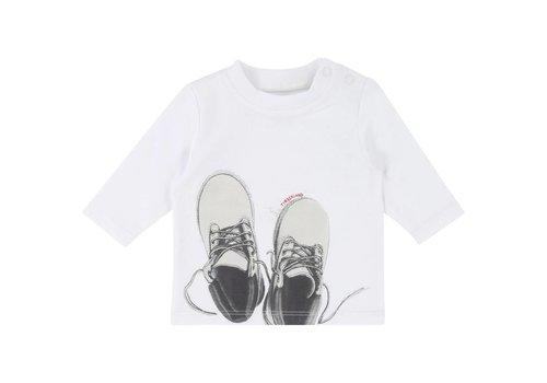 Timberland t-shirt met schoentjes