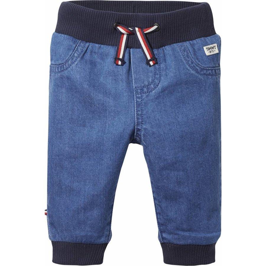 jeans met elastieken band