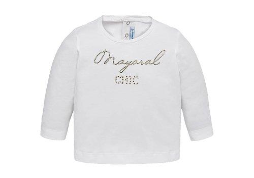 Mayoral t-shirt met glitter logo