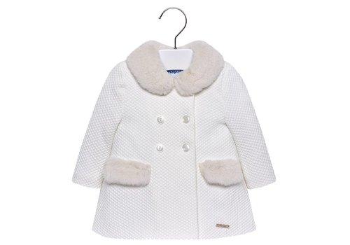 Mayoral jas met fake fur