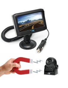 4.3 Monitor Wifi Camera Magneet Oplaadbaar