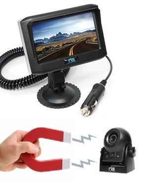 RVS-systemen 4.3 Monitor Wifi Camera Magneet Oplaadbaar