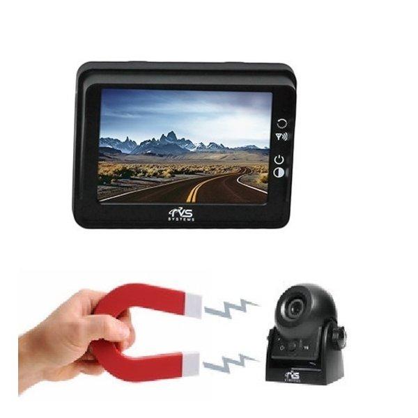 RVS-systemen RVS Draadloos set 3.5 inch Monitor 9 volt Batterij Camera