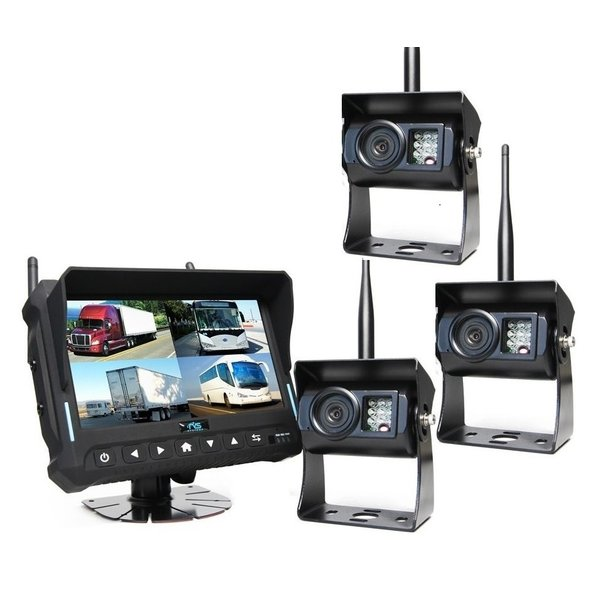 7 inch Quad 3 Draadloze Camera's
