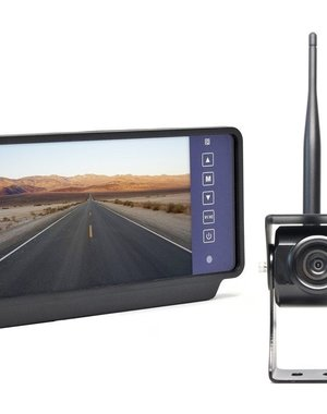 RVS-systemen 7 inch Spiegel Draadloze Achteruitrijcamera