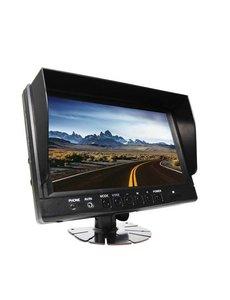 RVS-systemen 9 inch Monitor Quad Digitaal RVM-980