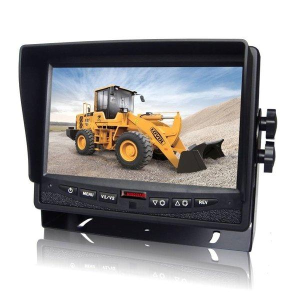 RVS-systemen Achteruitrijcamera Monitor 7 inch RVM-780