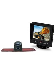 VW Crafter Dubbele Camera RDR-122D Monitor 5 inch RVM-560