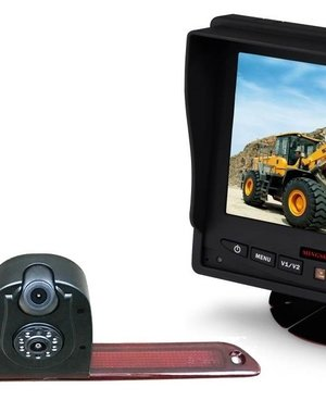 RVS-systemen VW Crafter (2007- heden) Dubbele Camera  Monitor 5 inch RVM-560
