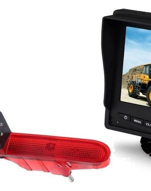 RVS-systemen Citroën Berlingo (2008-2016) Remlichtcamera Monitor 5 inch RVM-560