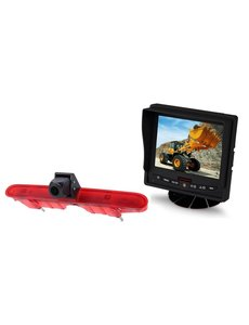RVS-systemen Peugeot Partner (2008-2016) Remlichtcamera  Monitor 5 inch RVM-560